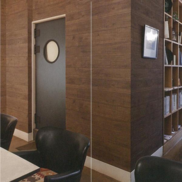 東洋ケース/KABEDECO(カベデコ) 壁紙 (シールタイプ) 2.5m×12枚(30m分) KABE-04*12 ブラウンウッド 壁紙シール リメイクシート インテリアシート 壁紙シート アクセントクロス 【送料無料】