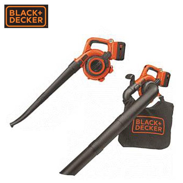 36V 2.0Ahリチウムブロワーバキューム GWC36N 充電式ブロワー 充電式ブロアー 清掃 掃除 落ち葉 ブラックアンドデッカー(BLACK&DECKER) 【送料無料】