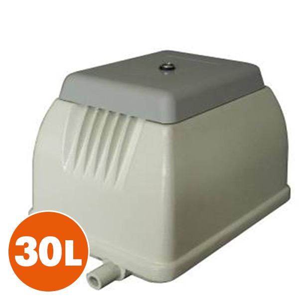電磁式エアーポンプ 30L NIP-30L ホワイト 電磁式 浄化槽用 日本電興(NIHON DENKO) 【送料無料】