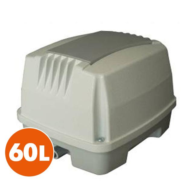 電磁式エアーポンプ 60L NIP-60L ホワイト 電磁式 浄化槽用 日本電興(NIHON DENKO) 【送料無料】