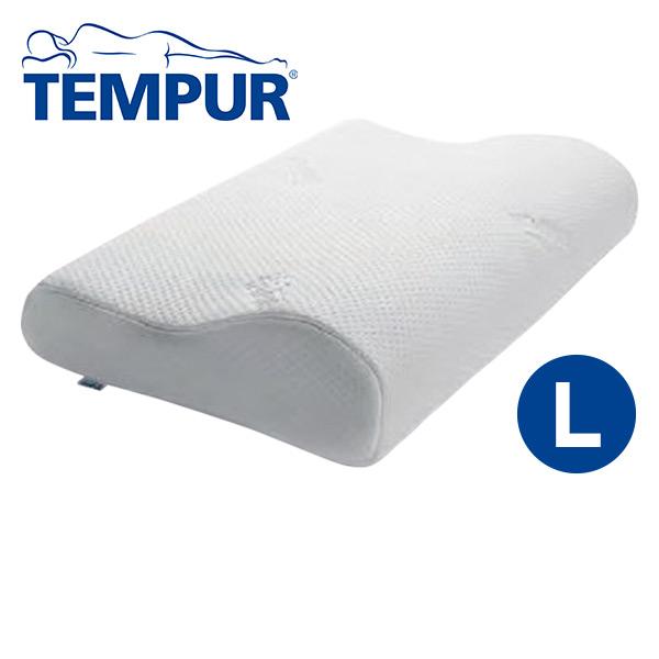 ネックピローL(50×31 高さ11.5から8.5cm) 50012-30 低反発枕 TEMPUR (テンピュール) 【送料無料】
