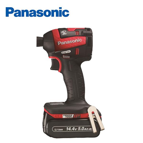 充電インパクトドライバー 14.4V 5.0Ah EZ75A7LJ2F-R レッド 充電ドライバー 電動ドライバー 充電式インパクトドライバー パナソニック(Panasonic) 【送料無料】