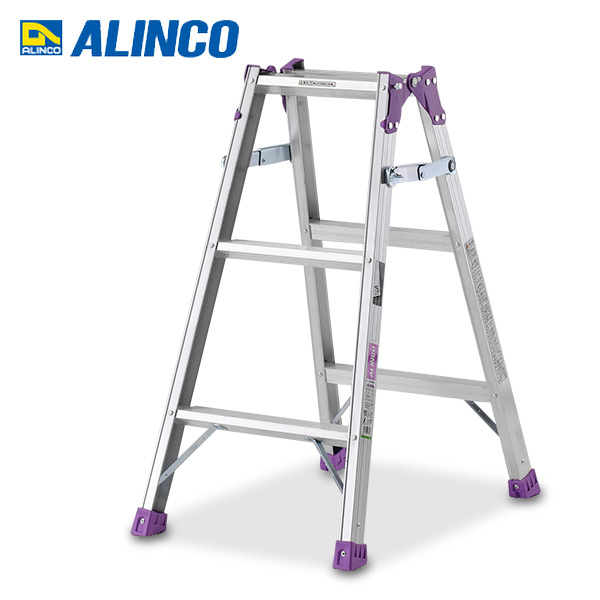 Ladder Combined Use Stepladder (90cm) MR 90W Stepladder Step Step Stylish  Lightweight Step Stand Folding Folding Ladder Ladder Footing Three Steps ...