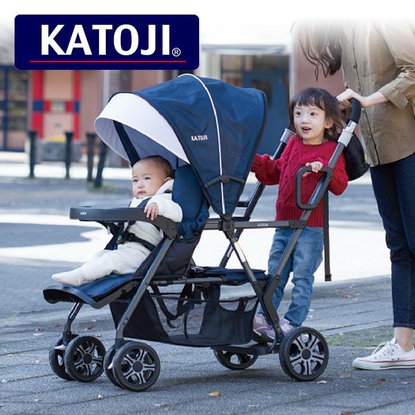 カトージ(KATOJI) ベビーカー 二人でゴー 二人乗り 41911 正規品 ベビー 赤ちゃん ベビーカー 軽量 コンパクト バギー 二人乗りベビーカー 【送料無料】