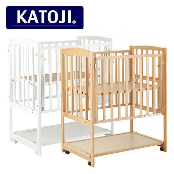 カトージ(KATOJI) ミニベッド ツーオープン キャスター付き 2910/2911 正規品 ベビー 赤ちゃん ベッド 収納棚 ミニ 小さい コンパクト おしゃれ 【送料無料】