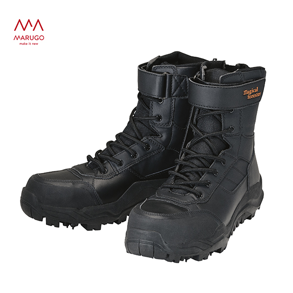 安全靴 おしゃれ マジカルフォレスター #005 MF005 09:ブラック 作業靴 ワーキングシューズ 安全シューズ セーフティシューズ 丸五 マルゴ 【送料無料】