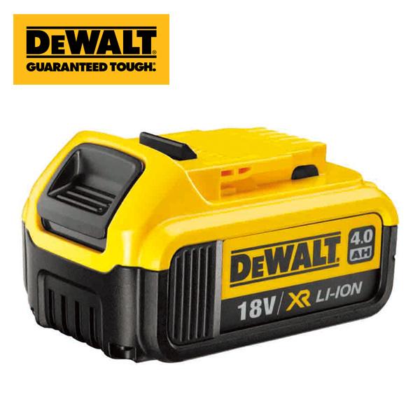 リチウムイオンバッテリー 18V 4.0Ah DCB182 充電バッテリー 交換バッテリー 予備バッテリー 交換電池 予備電池 DEWALT デウォルト 【送料無料】
