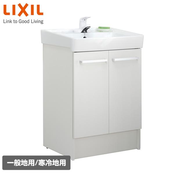 洗面化粧台 D7シリーズ 幅60cm 両開きタイプ シングルレバー水栓 D7N3-604-VP1W/D7N3-604N-VP1W ホワイト イナックス(INAX) 【送料無料】