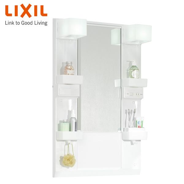 洗面化粧台 ミラーキャビネット 幅60cm 1面鏡 くもり止めコート付 MD7X2-601YFJU イナックス(INAX) 【送料無料】