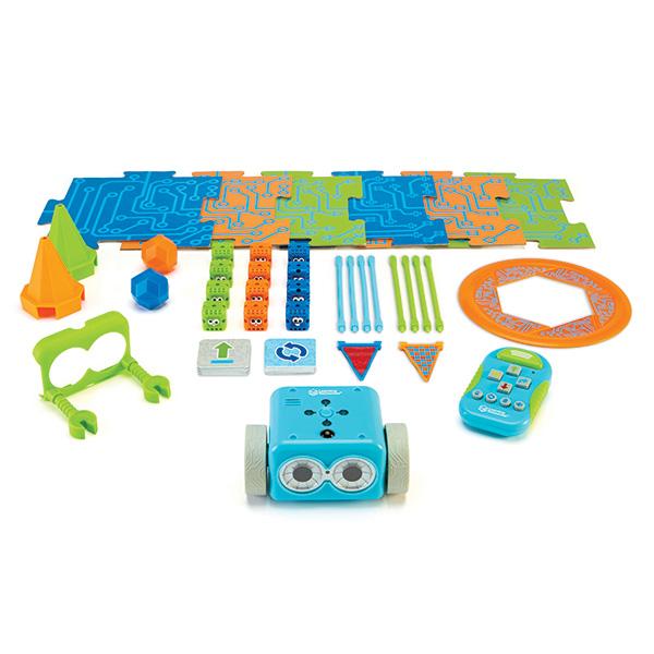 幼児向けプログラミング教材 プログラミングロボットボットリー コーディングロボット アクティビティセット LER2935 プログラミング 知育玩具 ロボット おもちゃ コーディング プログラミング教材 初心者 小学生 Learning Resources 【送料無料】