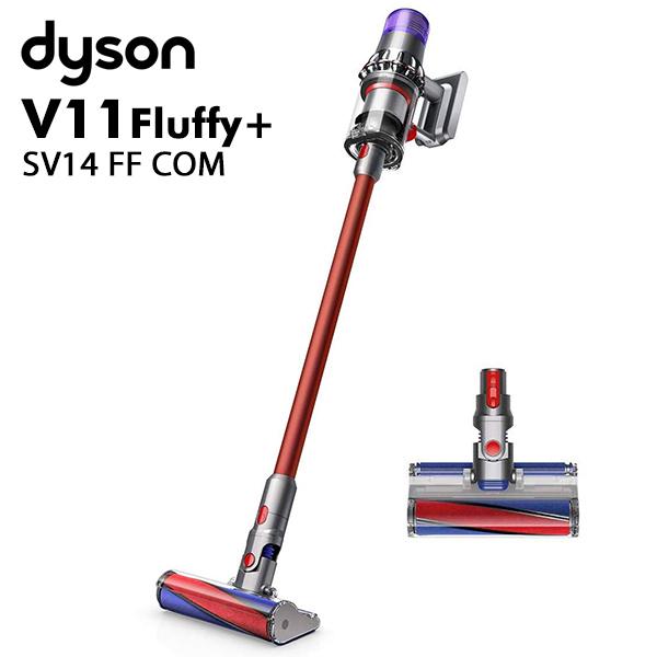 掃除機 V11 Fluffy+ サイクロン式 コードレス掃除機 SV14 FF COM サイクロンクリーナー スティッククリーナー コードレスクリーナー フラフィ プラス SV14FFCOM 【メーカー保証2年】 ダイソン dyson 【送料無料】