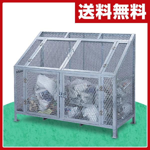 サンカ(SANKA) ダストBOX CS-08 ゴミ収集 スチール カラス対策 【送料無料】