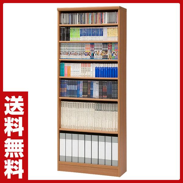 【国産】本格書棚 本棚(幅90 高さ178) エースラック ART1890P1.5HC MB ミディアムブラウン 【送料無料】