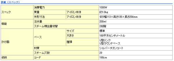 松下(Panasonic)蒸汽熨斗NI-S55-A蓝色