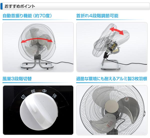 【GWも出荷中】ナカトミ(NAKATOMI) 45cmアルミフロア扇(開放式) OPF-45AF 工業扇風機 工場扇風機 サーキュレーター
