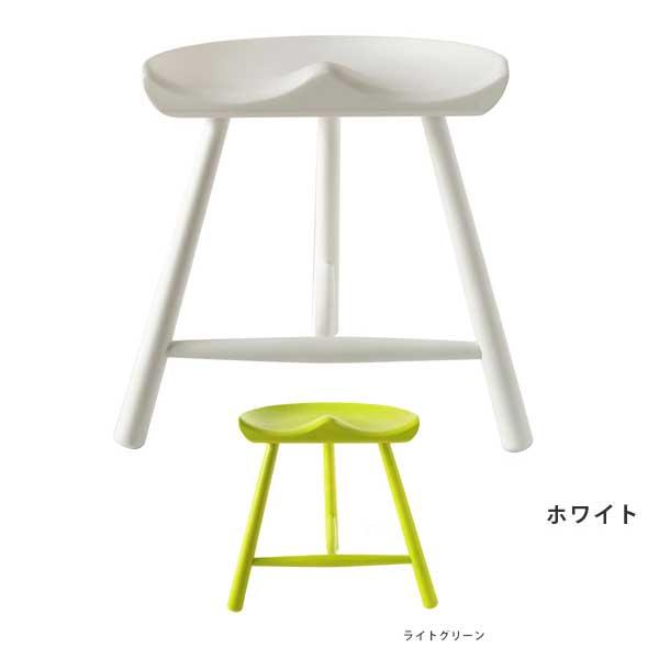 シューメーカーチェア 高さ42cm リプロダクト品 スツール ジェネリック家具 スツール 木製 椅子