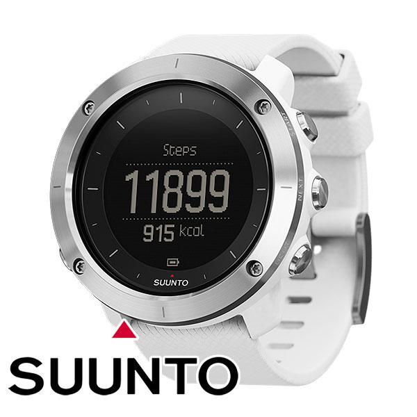 スント(SUUNTO) トラバース ホワイト (時計 デジタル) SS021842000