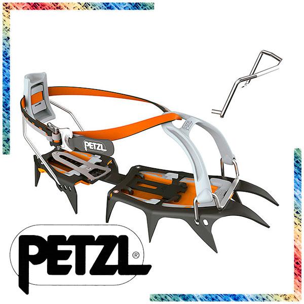T10ALLUトレッキング PETZL LEVERLOCK UNIVERSEL アイゼン 登山 一般縦走用アイゼン アウトドア アウトドアギア (ペツル) サルケン/