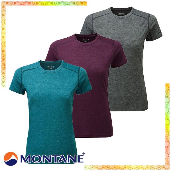 モンテイン(Montane) W's プリミノ 140g Tシャツ (レディース/半袖 Tシャツ アンダーウェア) GFP1SSI