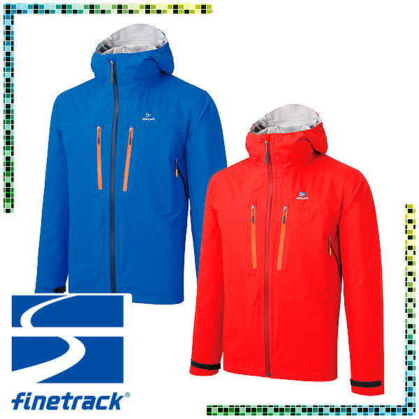 ファイントラック(finetrack) エバーブレス® バリオ ジャケット (メンズ/ジャケット レインウェア 雨具) FAM0221-D4