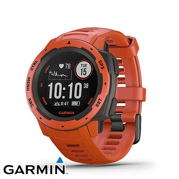 ガーミン(GARMIN) Instinct Flame Red (GPS 時計) 010-02064-32