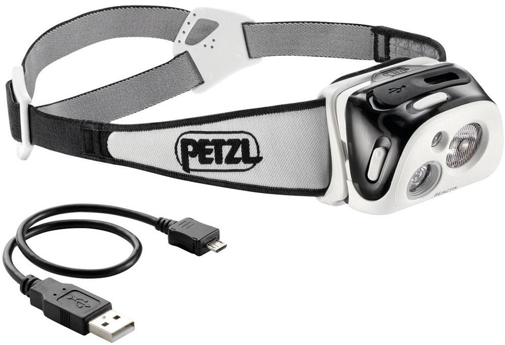 PETZL(ペツル)アウトドアグッズその他REACTIK (リアクティック) ブラック [パフォーマンスシリーズ] E92 HNEE92HNE