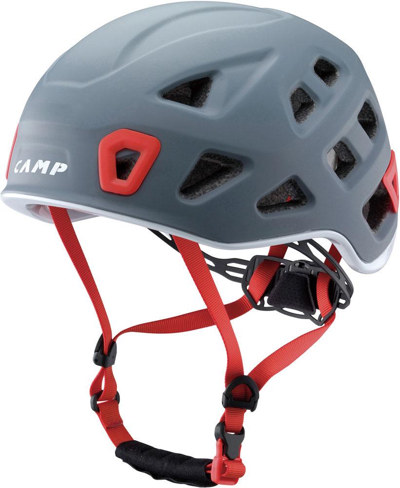キャラバン(CARAVAN)アウトドアグッズその他登山 クライミング ヘルメット 【STORM】 グレー5245702