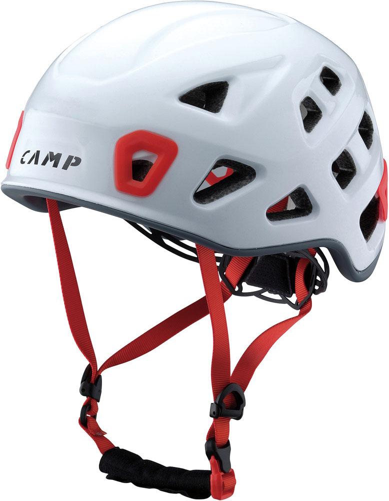 キャラバン(CARAVAN)アウトドア登山 クライミング ヘルメット 【STORM】 ホワイト5245704