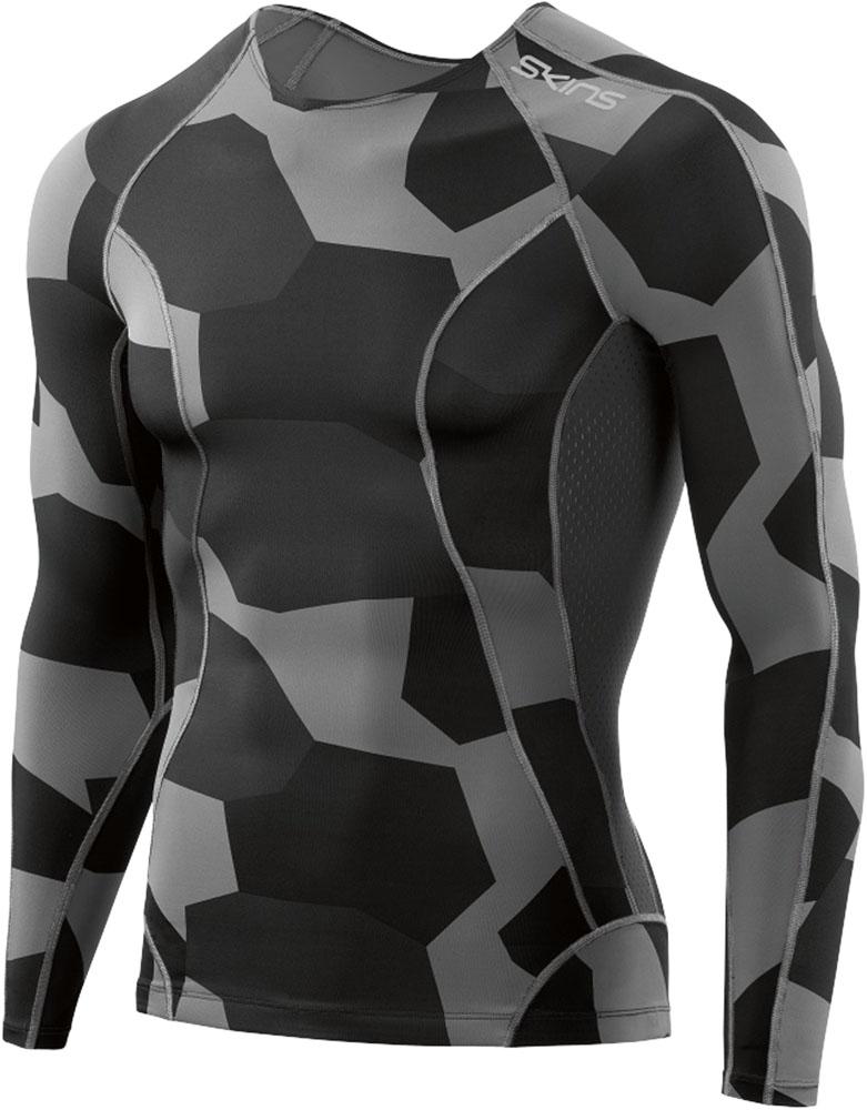 SKINS(スキンズ)ボディケアゲームシャツ・パンツA200 DNAMIC CORE メンズ ロングスリーブトップD95055031SDSCC