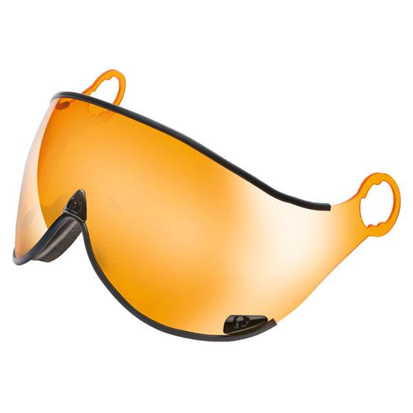 エバニュー(Evernew)スキーヘルメットAP VISOR ORANGE MIRROR CPC1538CPC1538