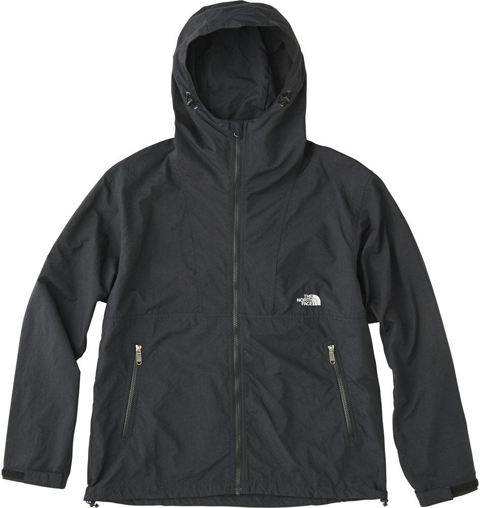 THE NORTH FACE(ノースフェイス)アウトドアウインドウェアコンパクトジャケット(メンズ) Compact Jacket NP71830NP71830ブラック