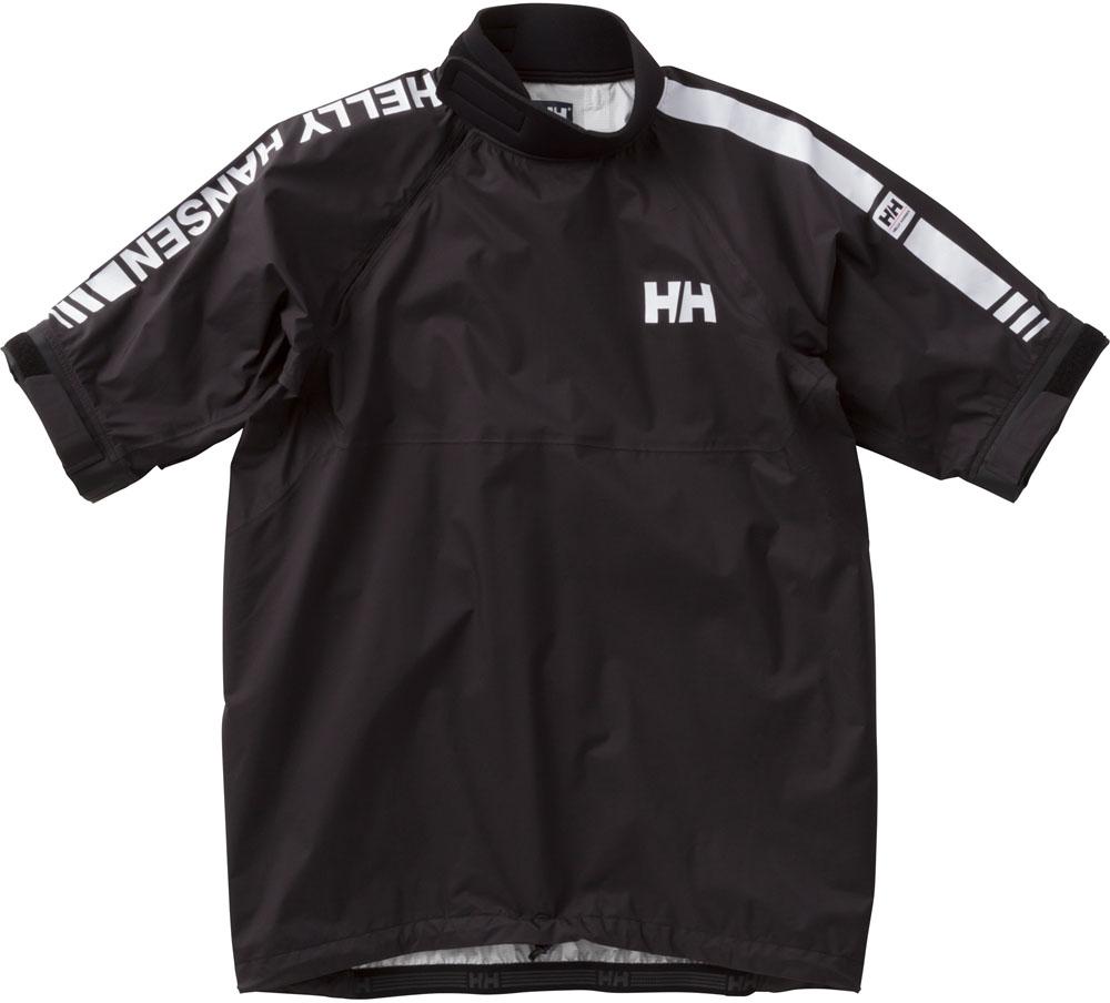 HELLY HANSEN(ヘリーハンセン)マリン水中ウェアその他ハーフスリーブチームスモックトップ 2 I(メンズ) H/S Team Smock Top III HH11805HH11805ブラック