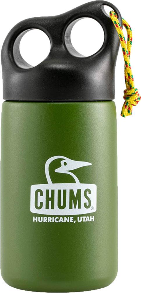 CHUMS チャムス アウトドア 食器 燃料 Olive 25日限定P最大10倍 チャムスアウトドアキャンパーステンレスボトル320 Camper ランチ Bottle Stainless 記念日 保温 セール特価品 320 遠足CH621409 水筒 部活 保冷