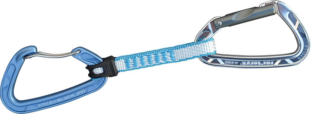 roc'teryx ロックテリクス アウトドア 器具 備品 ブルー 25日限定P最大10倍 アウトドアツオラミSW11セット 2色 用品 道具 AF818SW11 ツール 用具 カラビナ クイックドロー 祝開店大放出セール開催中 絶品 クライミング