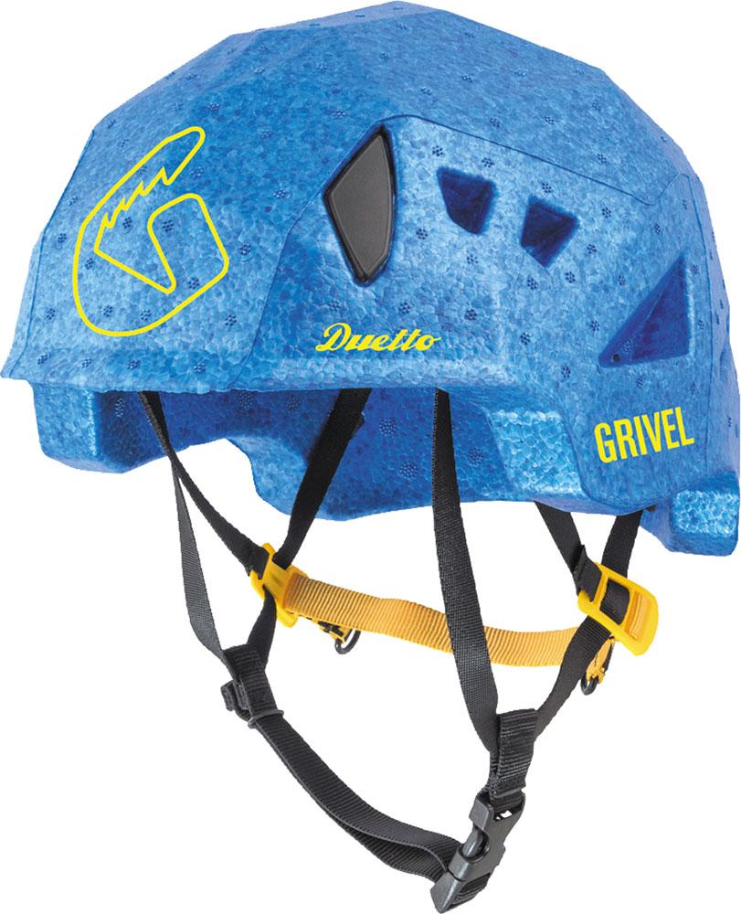 ☆正規品新品未使用品 Grivel グリベル アウトドア 25%OFF ヘルメット ブルー アウトドアデュエット クライミング スキー 軽量 登山 GVHEDUE