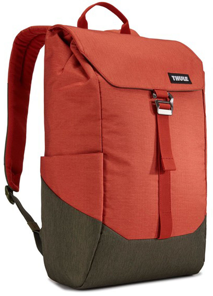 スーリー(THULE)カジュアルLithos Backpack 16L Rooibos/Forest Night3203821