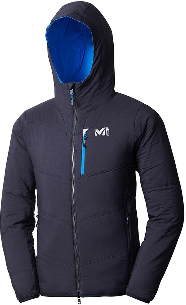 MILLET(ミレー)アウトドアウインドウェアトイ リバーシブル フーディーMIV01620NOIR/ELECTRIC BLUE