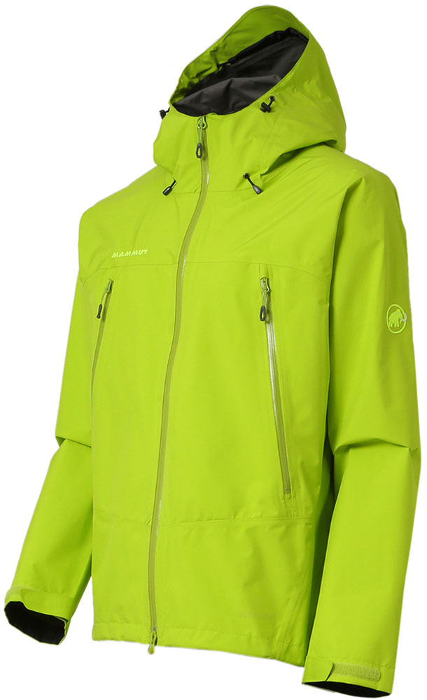 MAMMUT(マムート)アウトドアレインウェアクライメイトレインスーツ(メンズ) [CLIMATE Rain-Suits Men] 1010-26550101026550SPROUT-BLK