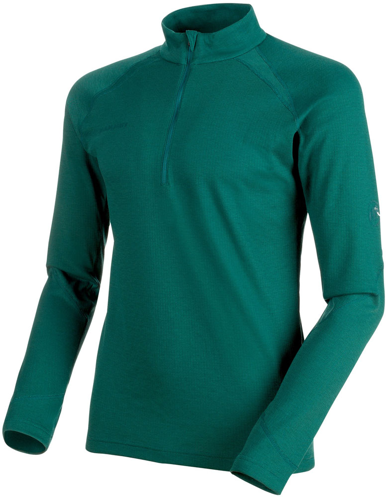 MAMMUT(マムート)アウトドアTシャツPERFORMANCE Thermal Zip long Sleeve Men101600090DARK TEAL