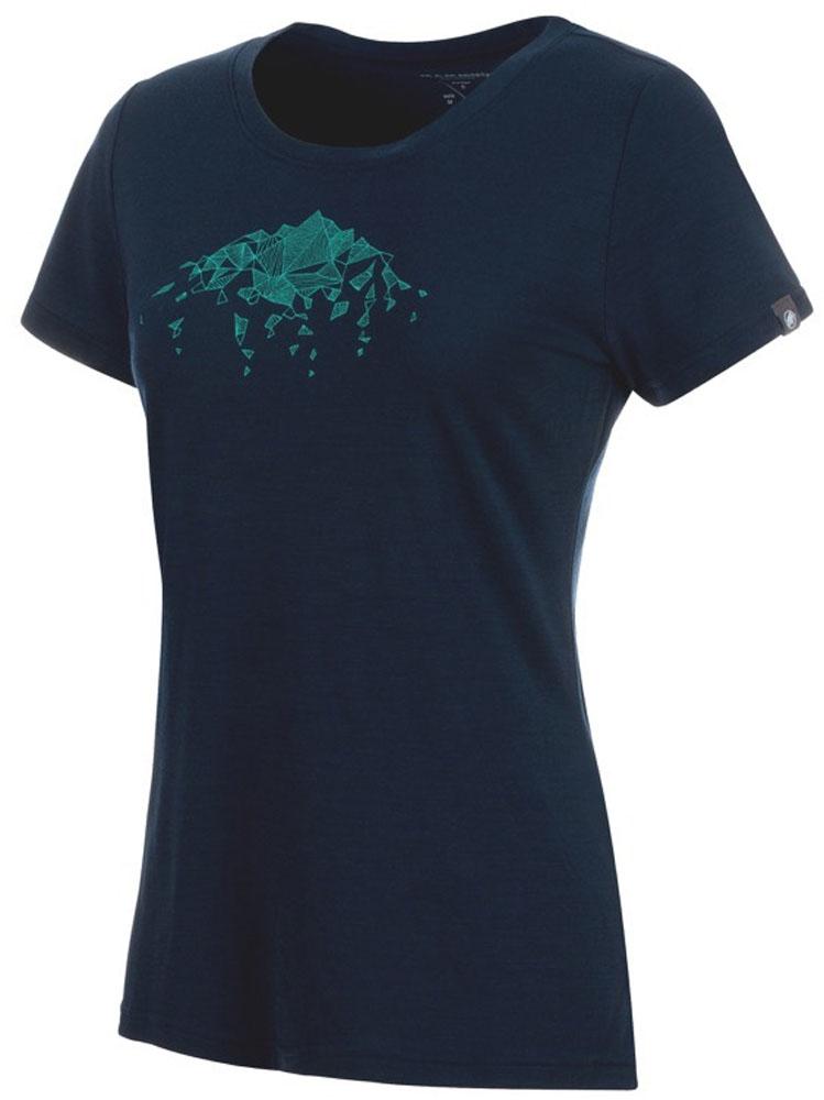 MAMMUT(マムート)アウトドアTシャツAlnasca T-Shirt Women 1017-00080101700080Amarine