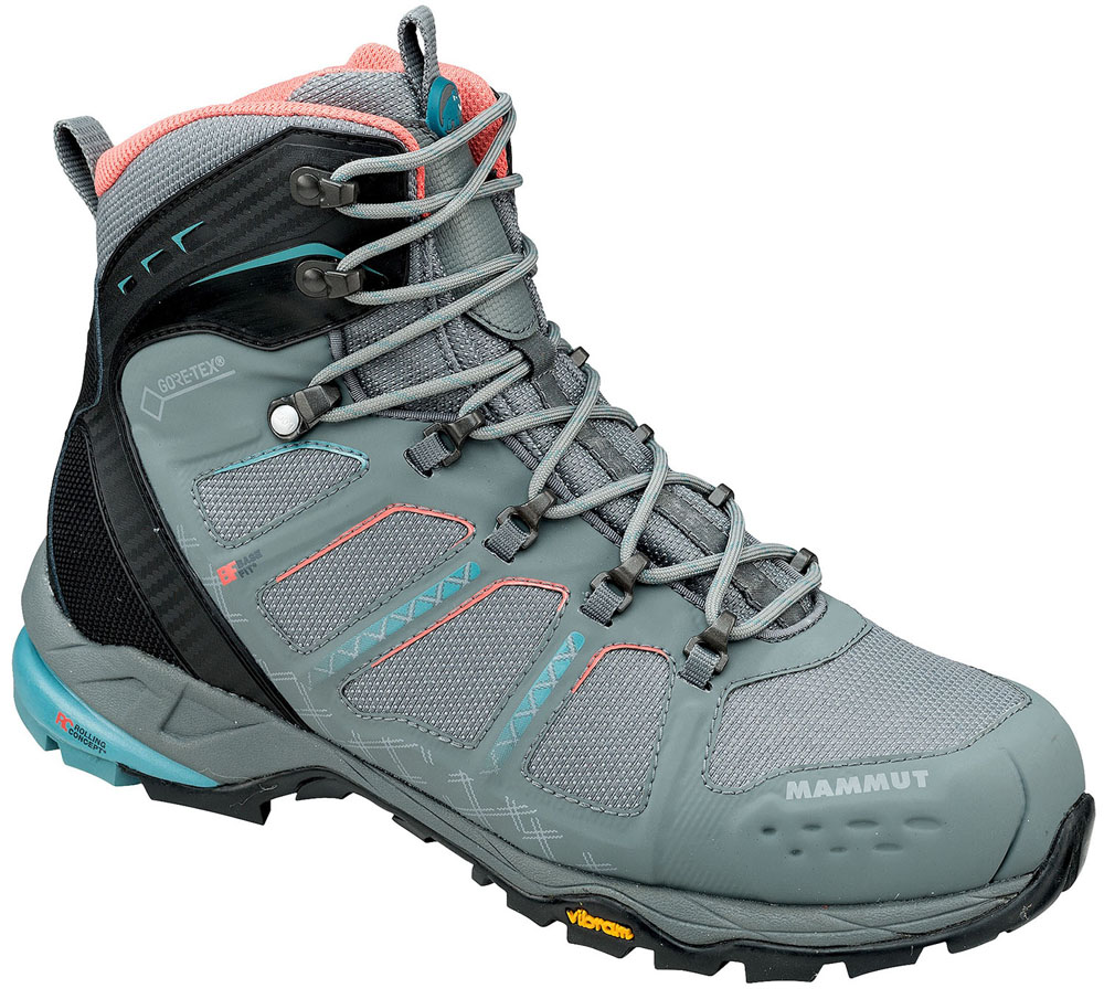 MAMMUT(マムート)アウトドアシューズT Aenergy High GTX(R) Women302005580GREY-DARK AIR