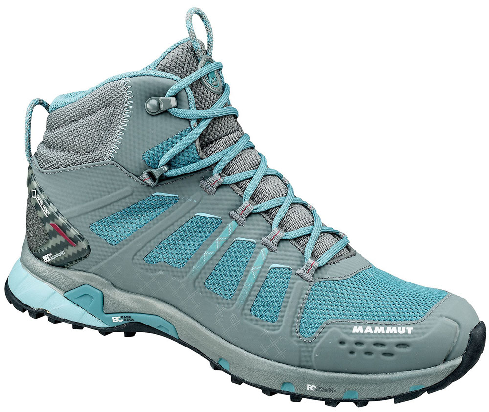 MAMMUT(マムート)アウトドアシューズT Aenergy MID GTX(R) Women302005620GREY-DARK AIR