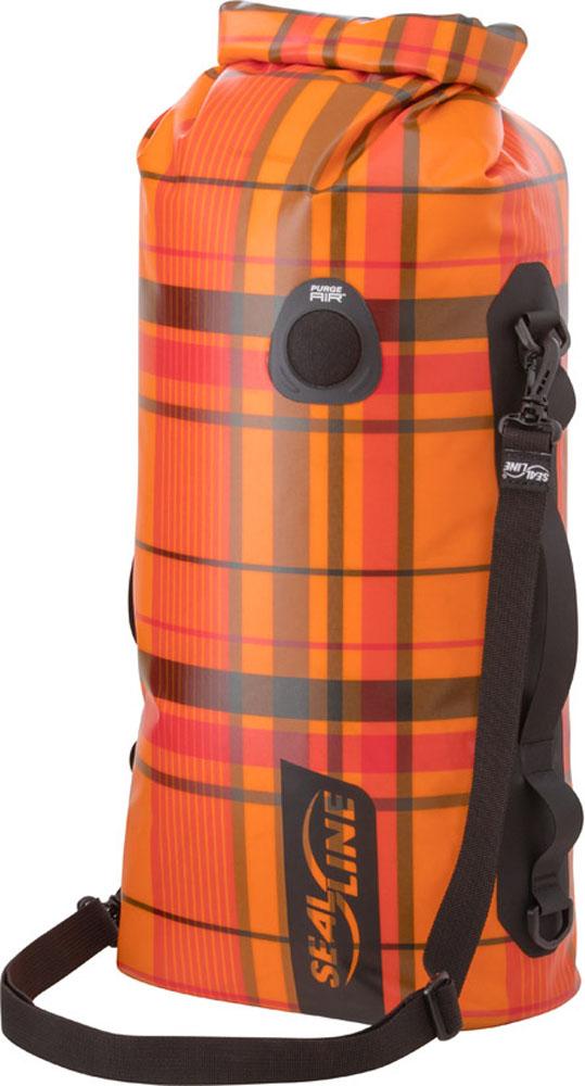 SealLine(シールライン)アウトドアDRY BAGS ディスカバリーデッキドライバッグ 30L オレンジプラッド32345