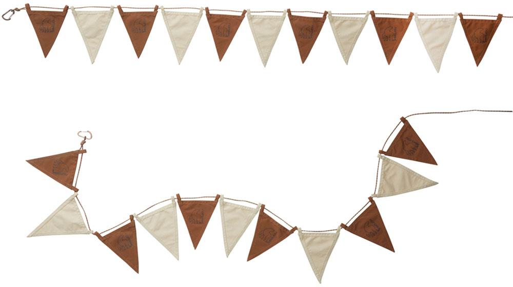 NORDISK(ノルディスク)アウトドアフラッグライン(2本) チョコレート Flaglines Chocolate148094