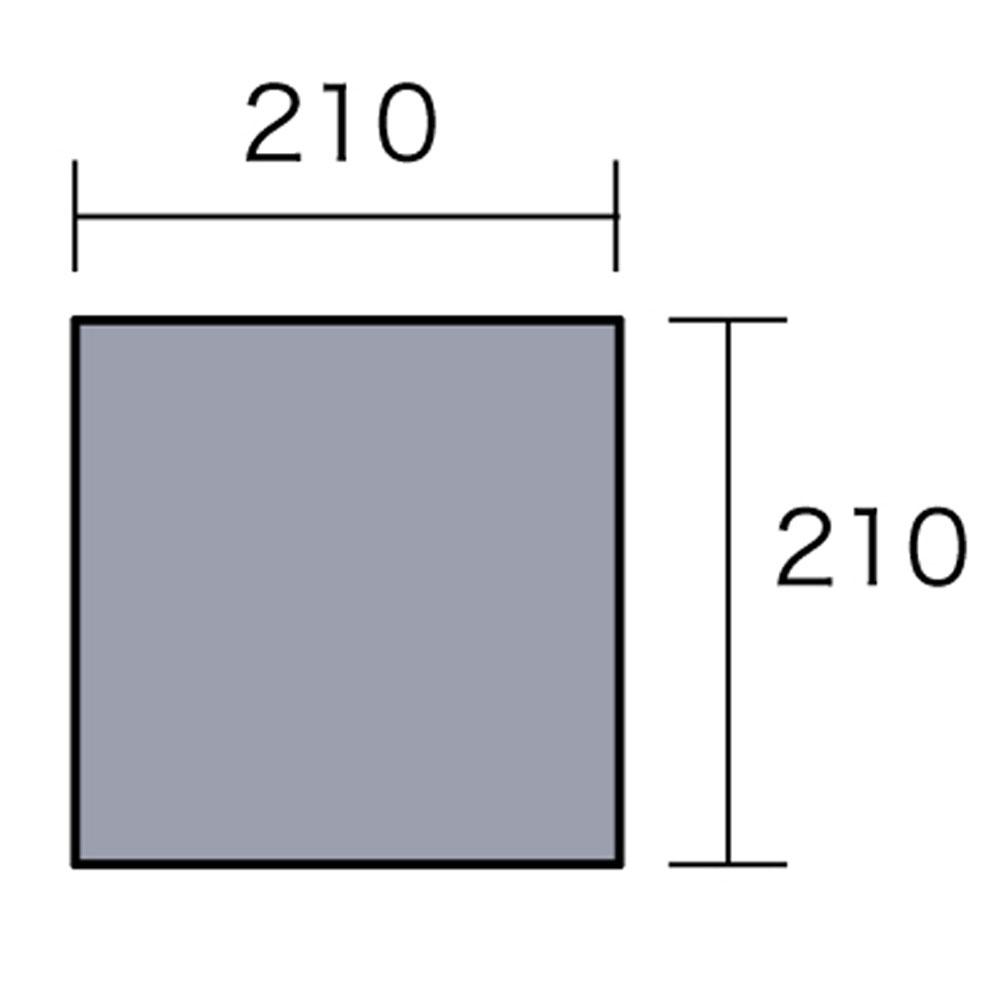 小川キャンパル(OGAWA CAMPAL)アウトドアPVCマルチシート 220×220用1408