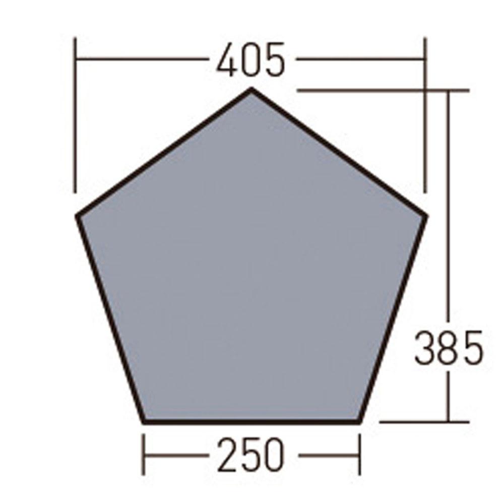 小川キャンパル(OGAWA CAMPAL)アウトドアグッズその他PVCマルチシート(グロッケ 12 T/C用)1426