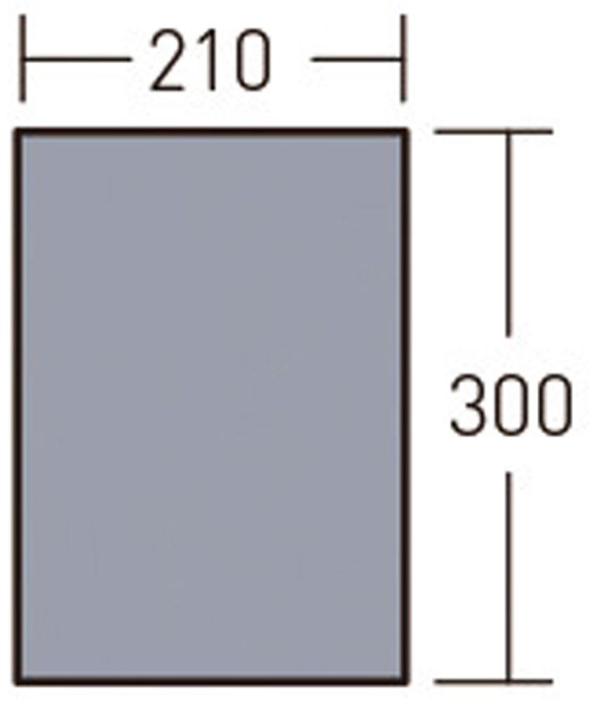 小川キャンパル(OGAWA CAMPAL)アウトドアグッズその他グランドマット2130 アポロン用3890