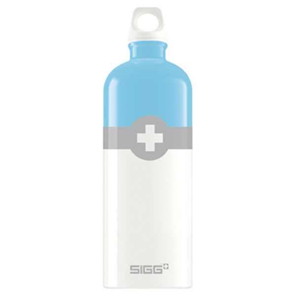 SIGG(シグ)アウトドアトラベラー スイスロゴ 1.0L ライトブルー95110