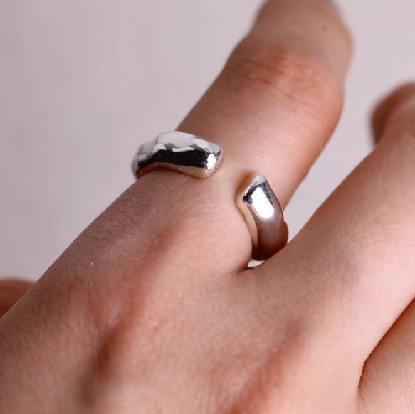 大人 シンプル 上質 リング 指輪 シルバーリング サイズオーダーメイド 高級感 誕生日 クリスマス 母の日 入学祝い 卒業祝い ペアリング プレゼント handcraftいびつフォークリング ユニセックス 受注生産 大きいサイズ指輪 ギフト 必ずサイズが見つかる指輪 オープンリング スターリングシルバー ラッピング 送料無料〈silver925〉5~19号 シルバー925 金属アレルギー対応 ピンキーリング 格安SALEスタート 公式 サムリング