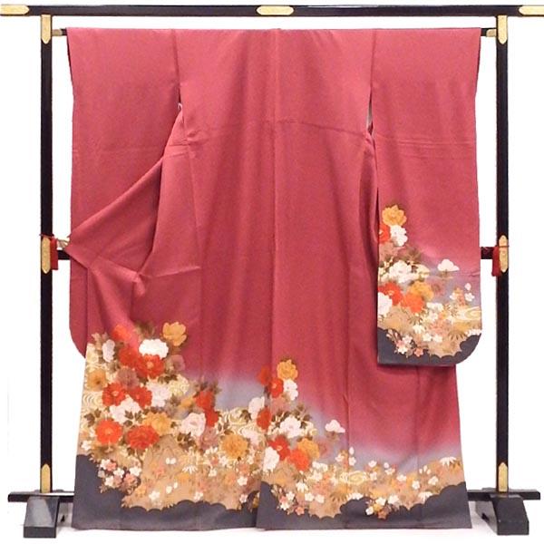 正絹振袖 期間限定特価品 人気ブランド多数対象 販売 咲き誇る牡丹の園